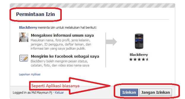 Tutorial Update Status Via Blackberry, Android Ect